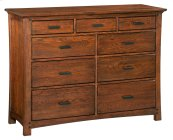 DAO 9-Drawer Prairie City Dresser