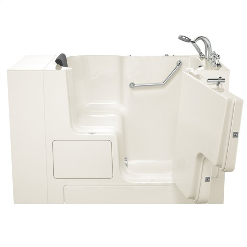 Gelcoat Premium Series 32x52 Walk-in Tub with Outward Opening Door, Left Drain  American Standard - Linen