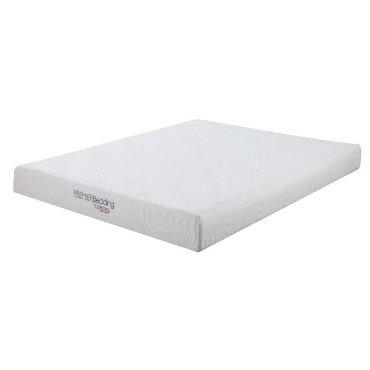 Keegan White 8-inch Twin XL Memory Foam Mattress