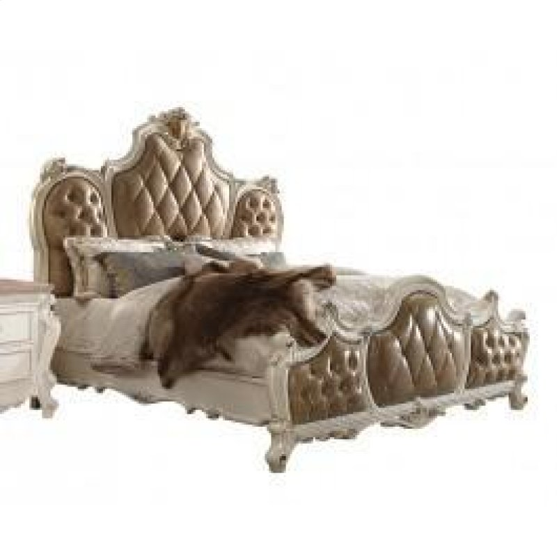 Picardy Antique Pearl Ck Bed - 26894CK In By Acme Furniture Inc In Tampa, FL - Picardy Antique