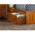 Two Urban Bed Drawers Queen/King in Caramel Latte Product Image