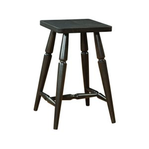 JOHN THOMAS FURNITUREAccent Stool in Black Pearl