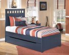Leo - Blue 5 Piece Bed Set (Twin) Product Image