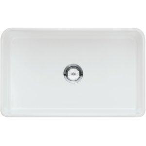 "Blanco Cerana® II 30"" Single Bowl With Apron - White"