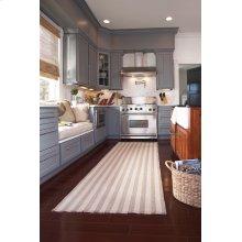 Hampton Shingle Stripe Flat Woven Rugs