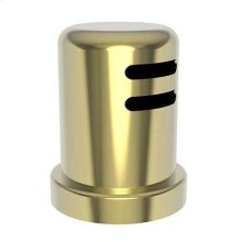 Uncoated Polished Brass - Living Air Gap Cap