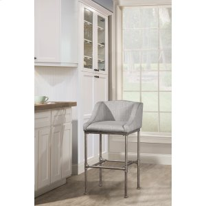 Hillsdale FurnitureDillon Stationary Bar Height Stool -textured Silver