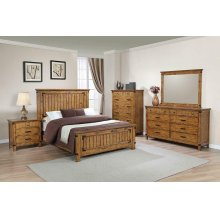 Brenner Rustic Honey California King Bed