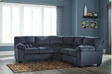 RAF Loveseat with Half Wedge