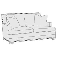 Cantor Loveseat in Molasses (780)