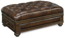Living Room Cheshire Drawer Ottoman