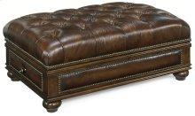Living Room Cheshire Drawer Ottoman