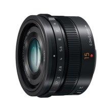 LUMIX G LEICA DG SUMMILUX Lens, 15mm, F1.7 ASPH., Professional Micro Four Thirds - H-X015K