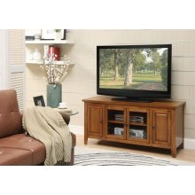 OAK FINISH TV STAND