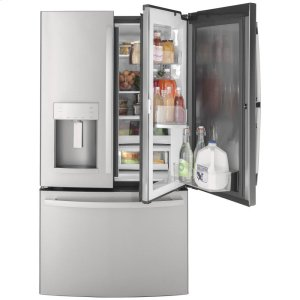 GEGE® 27.7 Cu. Ft. Fingerprint Resistant French-Door Refrigerator with Door In Door