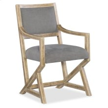 Dining Room Urban Elevation Upholstered Arm Chair