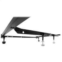 "Inst-A-Lift Single Center Bed Support System IL-1 with (2) 9"" Height Adjustable Glides and Clamp Assembly, Full - Queen"