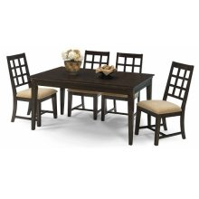 Rectangular Dining Table - Walnut Finish