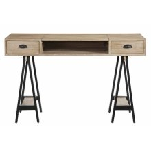 Lift-Top Desk - Reclaimed Elm Finish