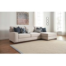 Kendleton Stone 2 Piece Sectional - LAF Sofa RAF Chaise