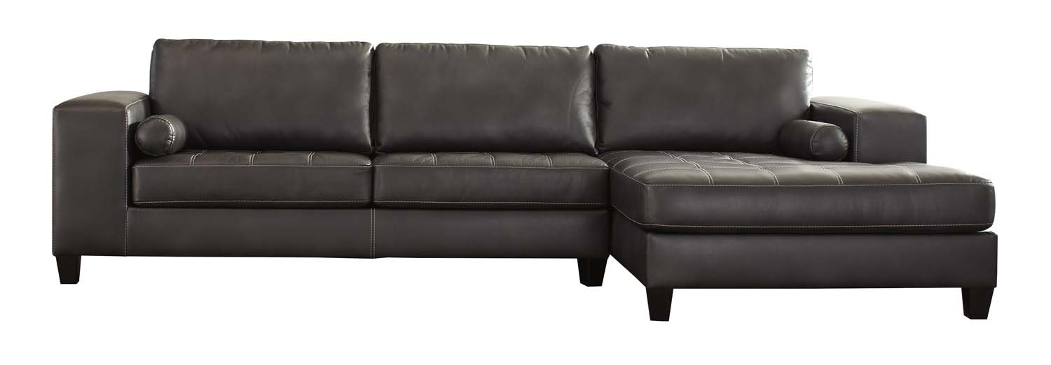 Superbe RAF Corner Chaise/LAF Sofa 2 Piece Sectional