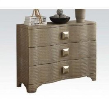 Gold Patina Console Table @n