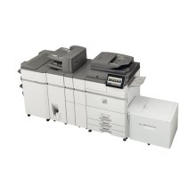 65 ppm B&W networked digital MFP