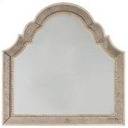 Bedroom Sanctuary Shaped Landscape Mirror-Pearl Essence Product Image