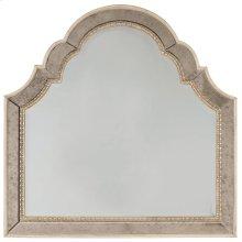 Bedroom Sanctuary Shaped Landscape Mirror-Pearl Essence