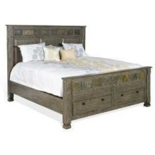 Scottsdale Eastern King Bed w/ Storage