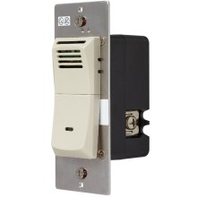 Humidity Sensing Wall Control in Lt. Almond
