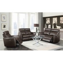 Scranton Casual Dark Brown Power^2 Sofa
