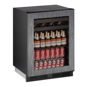 """U-Line1224bev 24"""" Beverage Center With Integrated Frame Finish (115 V/60 Hz Volts /60 Hz Hz)"""