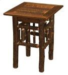 Hickory Open Nightstand - Barnwood Top Product Image