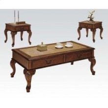 3pc Pack Coffee End Tables