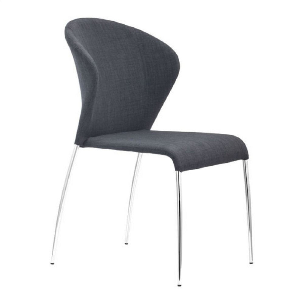 Oulu Dining Chair Graphite