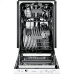 "GE Profile 18"" ADA Compliant Stainless Steel Interior Dishwasher with Sanitize Cycle"