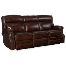 Living Room Carlisle Power Recliner Sofa w/ Power Headrest