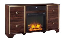 Lenmara - Reddish Brown 2 Piece Entertainment Set