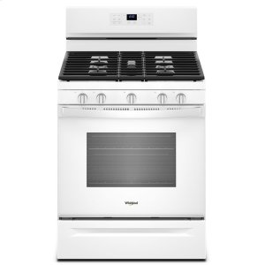 Whirlpool5.0 cu. ft. Whirlpool® gas convection oven with Frozen Bake technology