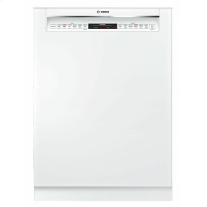 Bosch800 Series Dishwasher 24'' White, XXL SHE878ZD2N