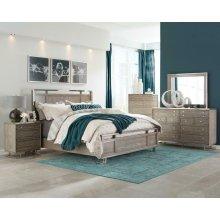 Johnathan Bedroom Industrial Nightstand
