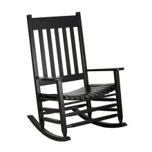Slat Rocker in Black Matte