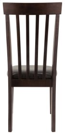 Hammis - Dark Brown Set Of 2 Dining Room Chairs Product Image