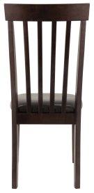 Hammis - Dark Brown Set Of 2 Dining Room Chairs Product Image