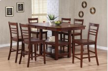 Contemporary Ladder Back Barstool