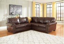 Banner - Coffee 2 Piece Sectional Product Image