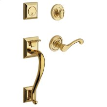 Lifetime Polished Brass Madison Sectional Trim