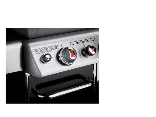 GENESIS® E-330™ LP GAS GRILL - BLACK