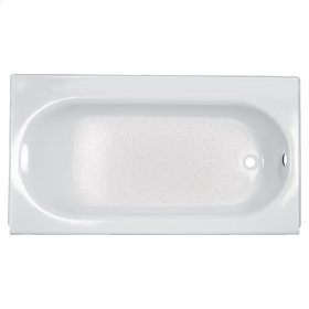 Princeton 60x34 inch Integral Apron Bathtub with Drain and Luxury Ledge  American Standard - White